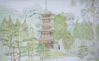 瑠璃光寺、五重塔.jpg