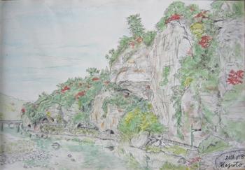 耶馬溪、青ノ洞門.jpg